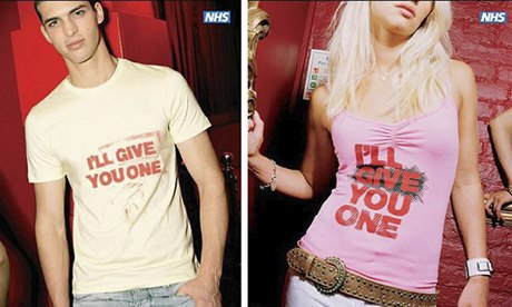 NHS sexual health campaign