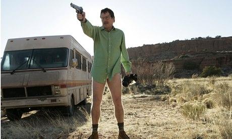 Breaking Bad: Walter in the desert