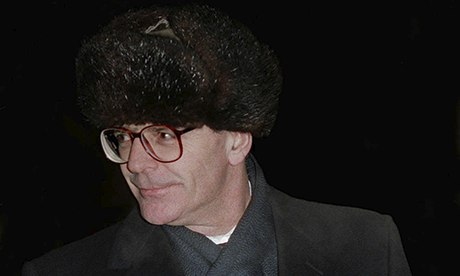 John Major Russian hat