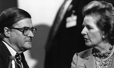 Kenneth Baker Margaret Thatcher