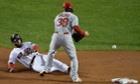 Boston Red Sox Dustin Pedroia and St. Louis Cardinals Pete Kozma