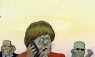 25/10/13 Steve Bell Angela Merkel