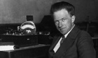 Werner Heisenberg in 1925. He claimed after the war he