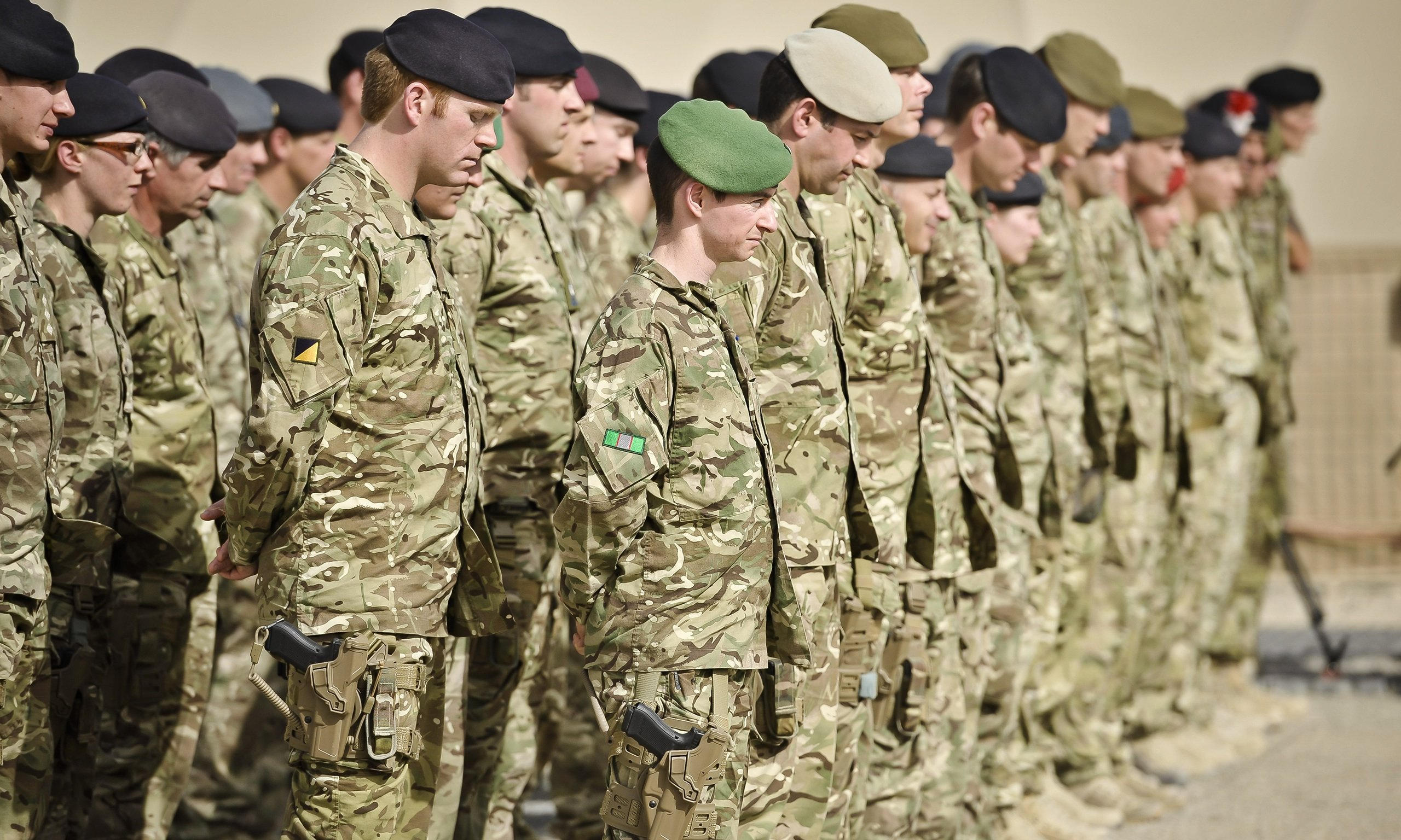 Afghan forces take the lead in British-supported operation