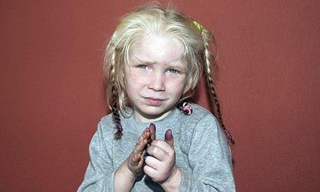 Maria, Roma girl, not 'stolen Aryan'