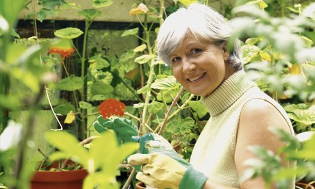 Gardening and DIY can prolong life