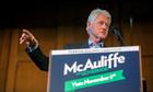 Bill Clinton McAuliffe campaign
