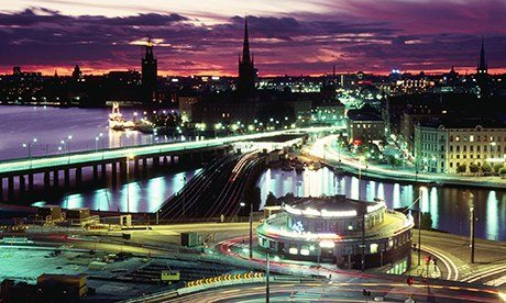 Stockholm roads system