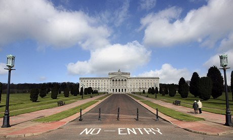The parliament buildings at Stormont