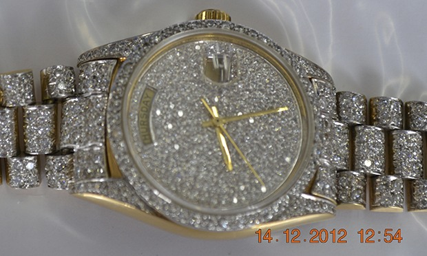 Escobar S Rolex And Other Items Seized From Colombia S