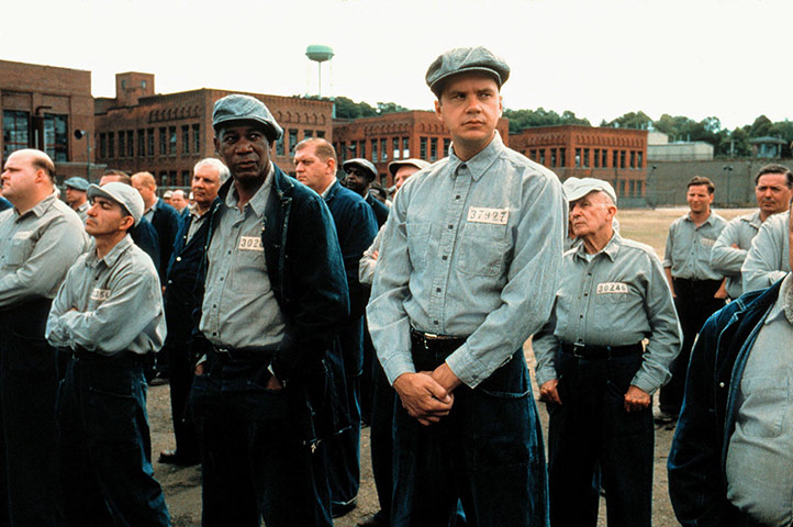 10 best: The Shawshank Redemption