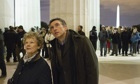 'In search of the truth': Philomena Lee and Martin Sixsmith  (Judi Dench and Steve Coogan) arrive in