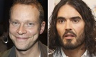 Robert Webb and Russell Brand