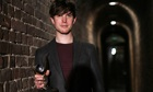 James Blake after winning Mercury music prize