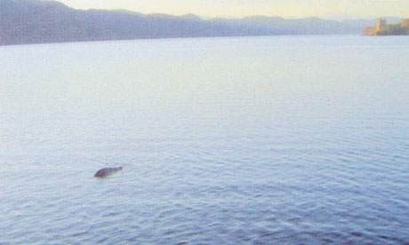 Loch Ness monster picture is a fake, photographer admits