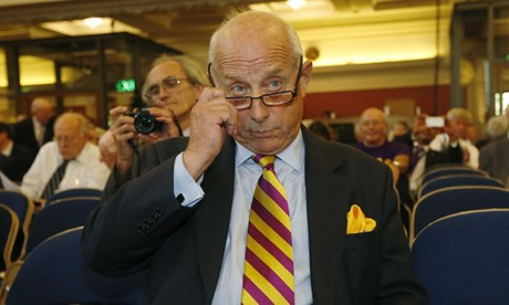 MEP Godfrey Bloom at the Ukip annual conference in September