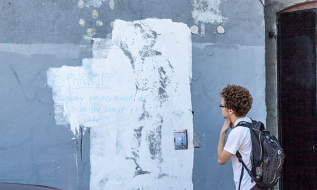 Banksy makes a splash in new york but what will become for Banksy mural painted over