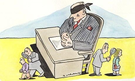 Andrzej Krauze GCHQ illustration
