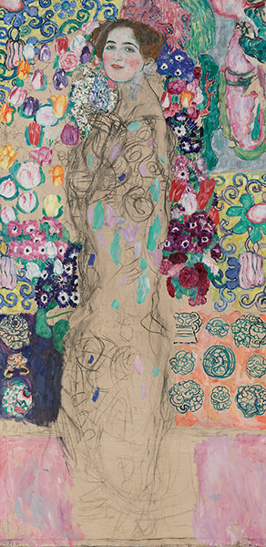 Portrait in Vienna: Gustav Klimt (1862-1918), Posthumous Portrait of Ria Munk III, 1917-18