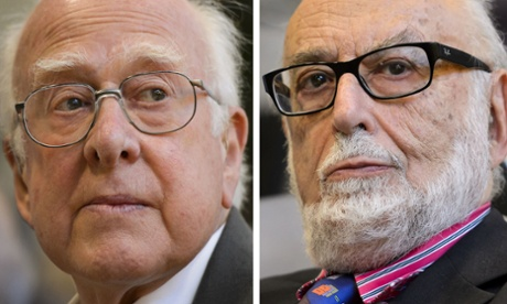 Peter Higgs and Francois Englert, winners of the 2013 Nobel Prize in Physics