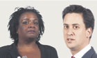 Diana Abbott and Ed Miliband: better the rebel you know.