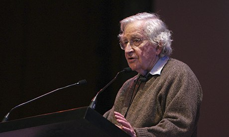 Noam Chomsky speaks at University of Montreal conference