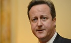 david cameron water bills cut