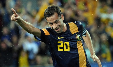 Alex Brosque of Australia