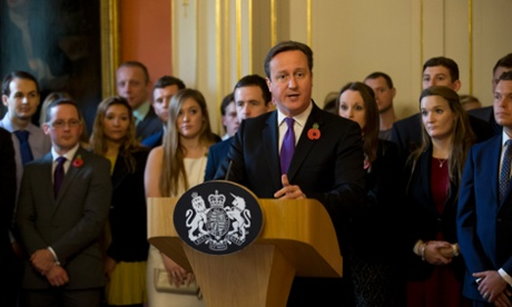 Cameron lauding Help to Buy, but which past pledges are the Conservatives less keen to draw attention to?