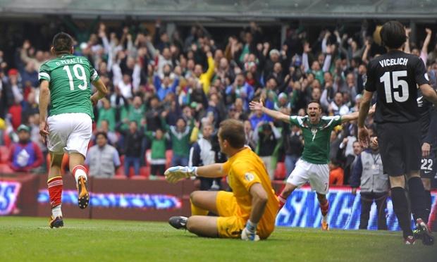 Mexico v New Zealand - as it happened | Football | theguardian.mexico vs new zealand 4
