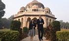 David Cameron, Lodi gardens, Delhi 14/11/13