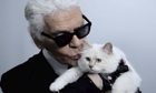 Karl Lagerfeld and Choupette: 'I'll be back before midnight, darling.'