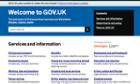 The UK government website
