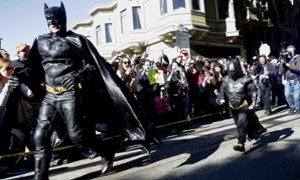 Batkid saves San Francisco as charity makes a wish come true