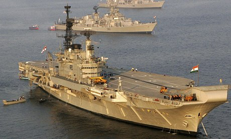 The Indian Navy's aircraft carrier Viraat is reaching the end of its service