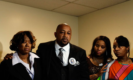 Monica McBride and Walter Ray Simmons, parents of shooting victim Renisha McBride