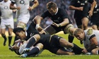 New Zealand's Julian Savea goes over the line