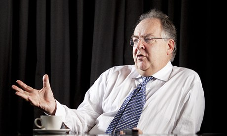 Lord Falconer, the former lord chancellor