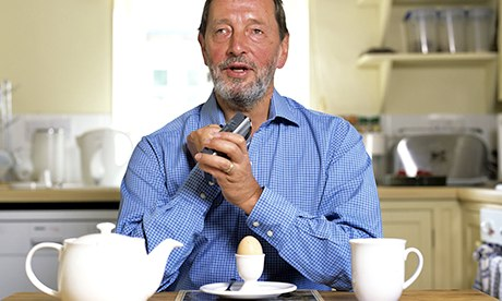 David Blunkett at breakfast