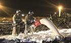 Российская авиакатастрофа: десятки убитых в аварии 737-го  в аэропорту Казани