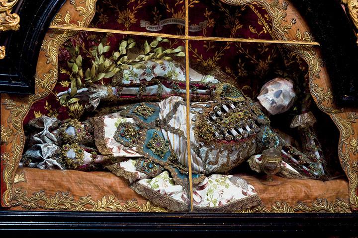 Heavenly Bodies: St Friedrich at the Benedictine abbey in Melk