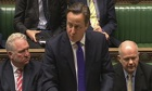Cameron reads Commons stat