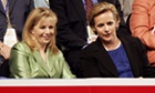 Liz and Mary Cheney at the Republican national convention in 2004