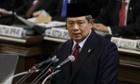 Susilo Bambang Yudhoyono: angry response.