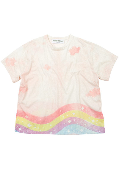 Meadham Kirchhoff : Rainbow t-shirt
