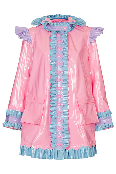 Meadham Kirchhoff : pink mac