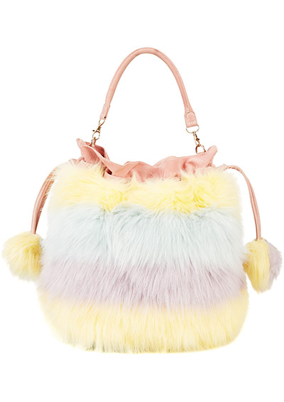 Meadham Kirchhoff : Furry handbag