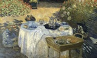 The Luncheon, 1873, by Claude Monet