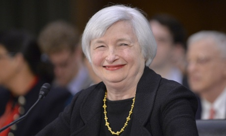 Janet Yellen would become the first woman to head the Federal Reserve.