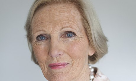 Which word do I most overuse? Delicious :    Mary Berry, Food Writer